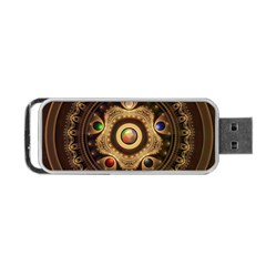 Gathering the Five Fractal Colors Of Magic Portable USB Flash (Two Sides)