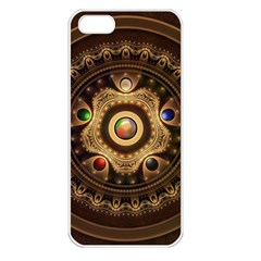 Gathering the Five Fractal Colors Of Magic Apple iPhone 5 Seamless Case (White)