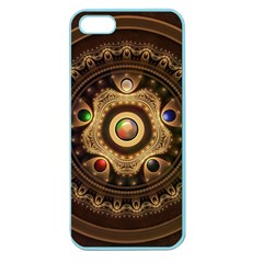 Gathering the Five Fractal Colors Of Magic Apple Seamless iPhone 5 Case (Color)