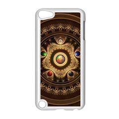 Gathering the Five Fractal Colors Of Magic Apple iPod Touch 5 Case (White)