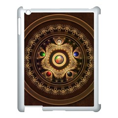 Gathering the Five Fractal Colors Of Magic Apple iPad 3/4 Case (White)