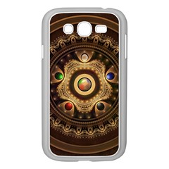 Gathering the Five Fractal Colors Of Magic Samsung Galaxy Grand DUOS I9082 Case (White)