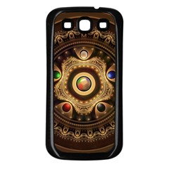 Gathering the Five Fractal Colors Of Magic Samsung Galaxy S3 Back Case (Black)