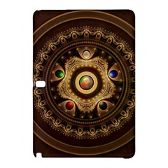Gathering the Five Fractal Colors Of Magic Samsung Galaxy Tab Pro 10.1 Hardshell Case