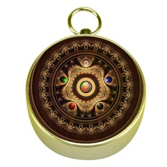 Gathering the Five Fractal Colors Of Magic Gold Compasses
