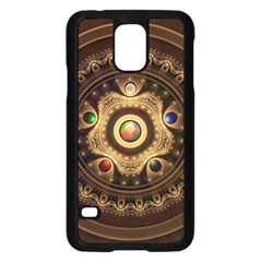 Gathering the Five Fractal Colors Of Magic Samsung Galaxy S5 Case (Black)