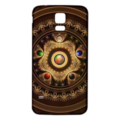Gathering the Five Fractal Colors Of Magic Samsung Galaxy S5 Back Case (White)