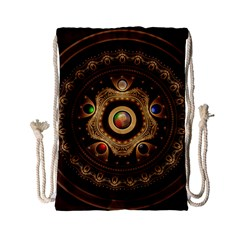 Gathering the Five Fractal Colors Of Magic Drawstring Bag (Small)