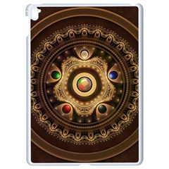 Gathering The Five Fractal Colors Of Magic Apple Ipad Pro 9 7   White Seamless Case