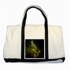 Beautiful Emerald Fairy Ferns in a Fractal Forest Two Tone Tote Bag