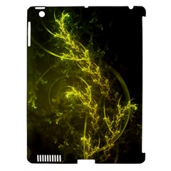 Beautiful Emerald Fairy Ferns in a Fractal Forest Apple iPad 3/4 Hardshell Case (Compatible with Smart Cover)