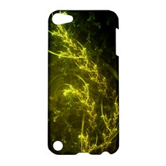 Beautiful Emerald Fairy Ferns in a Fractal Forest Apple iPod Touch 5 Hardshell Case