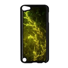 Beautiful Emerald Fairy Ferns in a Fractal Forest Apple iPod Touch 5 Case (Black)
