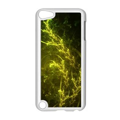Beautiful Emerald Fairy Ferns in a Fractal Forest Apple iPod Touch 5 Case (White)