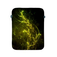 Beautiful Emerald Fairy Ferns in a Fractal Forest Apple iPad 2/3/4 Protective Soft Cases