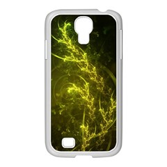 Beautiful Emerald Fairy Ferns in a Fractal Forest Samsung GALAXY S4 I9500/ I9505 Case (White)