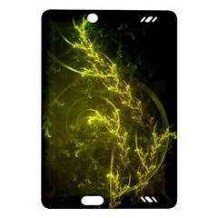 Beautiful Emerald Fairy Ferns in a Fractal Forest Amazon Kindle Fire HD (2013) Hardshell Case