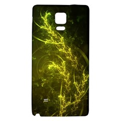 Beautiful Emerald Fairy Ferns in a Fractal Forest Galaxy Note 4 Back Case