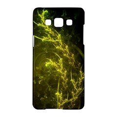 Beautiful Emerald Fairy Ferns in a Fractal Forest Samsung Galaxy A5 Hardshell Case
