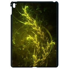 Beautiful Emerald Fairy Ferns In A Fractal Forest Apple Ipad Pro 9 7   Black Seamless Case