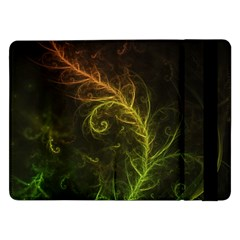Fractal Hybrid Of Guzmania Tuti Fruitti and Ferns Samsung Galaxy Tab Pro 12.2  Flip Case