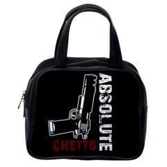 Absolute ghetto Classic Handbags (One Side)