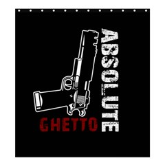 Absolute ghetto Shower Curtain 66  x 72  (Large)