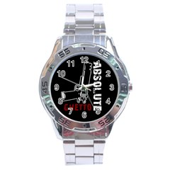 Absolute ghetto Stainless Steel Analogue Watch