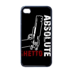 Absolute ghetto Apple iPhone 4 Case (Black)
