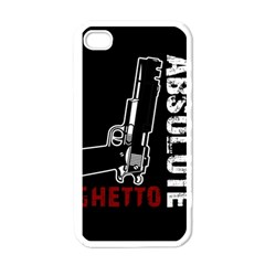 Absolute ghetto Apple iPhone 4 Case (White)