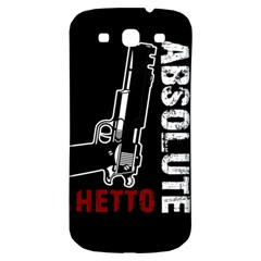 Absolute ghetto Samsung Galaxy S3 S III Classic Hardshell Back Case