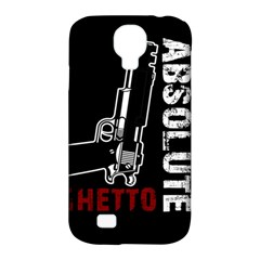 Absolute ghetto Samsung Galaxy S4 Classic Hardshell Case (PC+Silicone)
