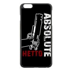 Absolute ghetto Apple iPhone 6 Plus/6S Plus Black Enamel Case