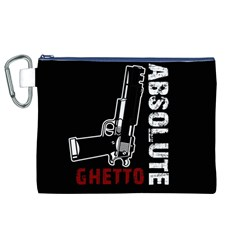 Absolute ghetto Canvas Cosmetic Bag (XL)