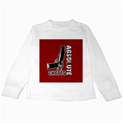 Absolute ghetto Kids Long Sleeve T-Shirts