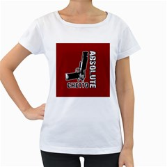 Absolute ghetto Women s Loose-Fit T-Shirt (White)