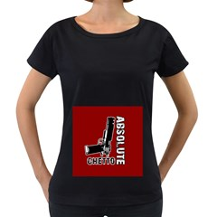 Absolute ghetto Women s Loose-Fit T-Shirt (Black)