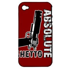 Absolute ghetto Apple iPhone 4/4S Hardshell Case (PC+Silicone)