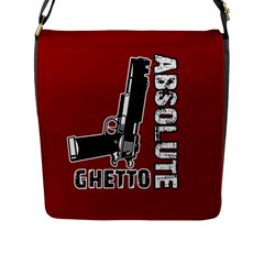 Absolute ghetto Flap Messenger Bag (L)