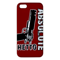 Absolute ghetto iPhone 5S/ SE Premium Hardshell Case