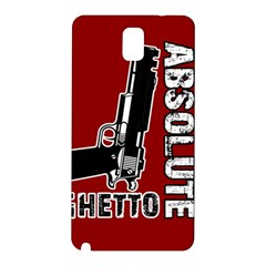 Absolute ghetto Samsung Galaxy Note 3 N9005 Hardshell Back Case