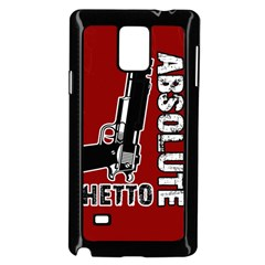 Absolute ghetto Samsung Galaxy Note 4 Case (Black)