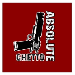 Absolute ghetto Large Satin Scarf (Square)