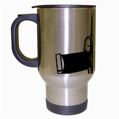 Absolute ghetto Travel Mug (Silver Gray)