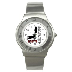 Absolute ghetto Stainless Steel Watch