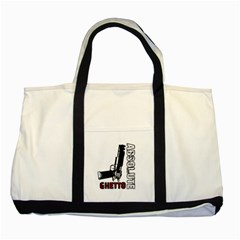 Absolute ghetto Two Tone Tote Bag