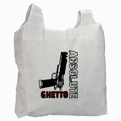 Absolute ghetto Recycle Bag (Two Side)