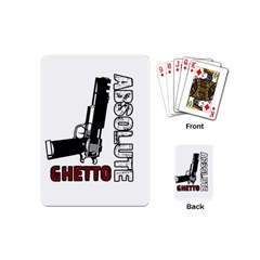 Absolute ghetto Playing Cards (Mini)
