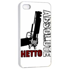 Absolute ghetto Apple iPhone 4/4s Seamless Case (White)