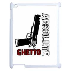 Absolute ghetto Apple iPad 2 Case (White)